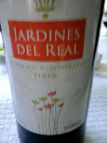 Jardines del real valencia vinos del mediterraneo tinto for Jardines del real valencia
