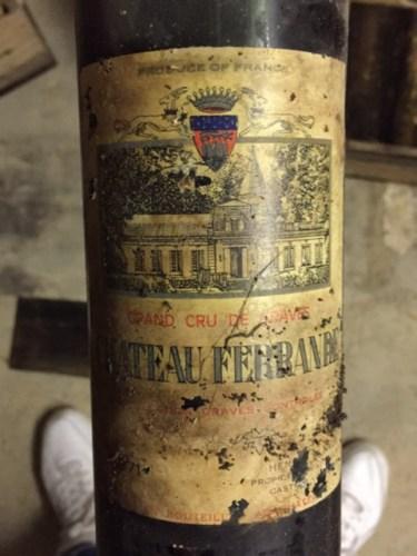 Ch teau ferrande graves 1971 wine info for Chateau ferrande