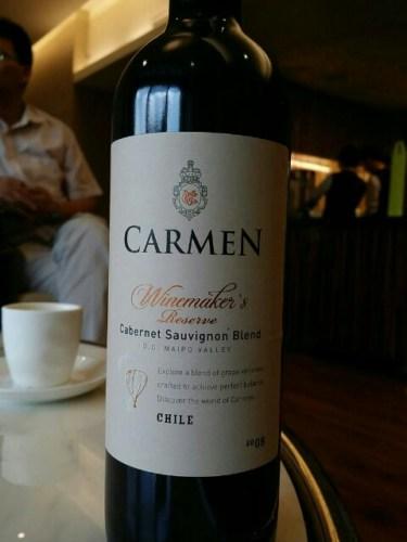Kết quả hình ảnh cho carmen winemaker's cabernet sauvignon