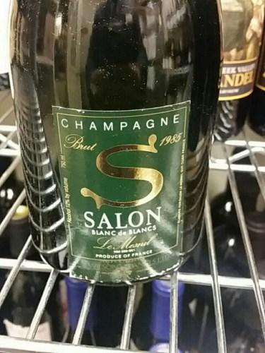 Salon le mesnil blanc de blancs brut champagne 1985 wine for 1985 salon champagne
