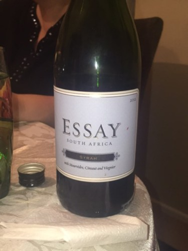 essay shiraz south africa Essay - chenin blanc (750ml) chenin blanc essay refers to the popular abbreviation for south africa (sa) as well as implying an assemblage or blending of things to create.