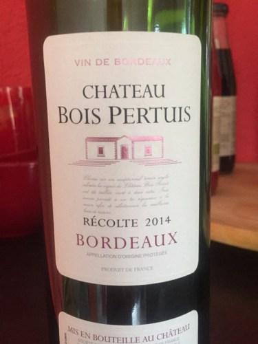 Chateau Bois Pertuis - Bernard Magrez Ch u00e2teau Bois Pertuis Bordeaux Wine Info