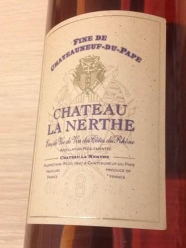 Ch teau la nerthe ch teauneuf du pape 1993 wine info for Chateau la nerthe