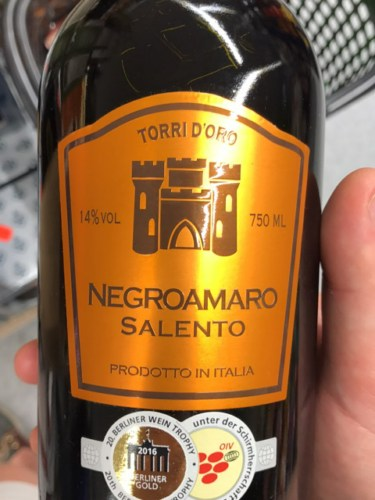 Kết quả hình ảnh cho torrid oro negroamaro