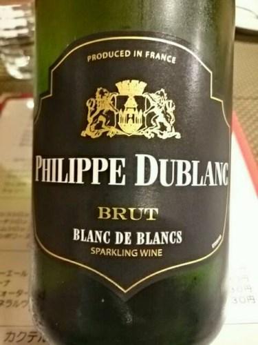 Philippe dublanc blanc de blancs brut 2011 wine info for Belle jardin blanc de blancs