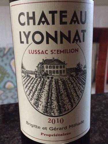 Ch teau lyonnat lussac st milion 2014 wine info for Chateau lyonnat