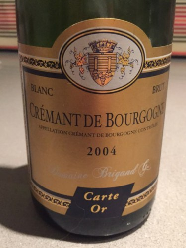 Carte Bourgogne Blanc.Domaine Brigand Carte Or Cremant De Bourgogne Blanc Brut Wine Info