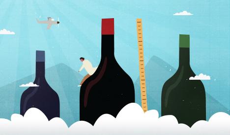 Guide to Wine Bottle Sizes: Salmanazar