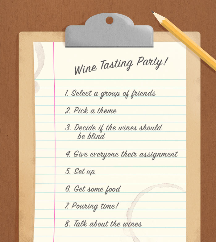 How to host a wine tasting party give everyone their assignment stopboris Image collections